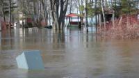 Petrie in flood 2008